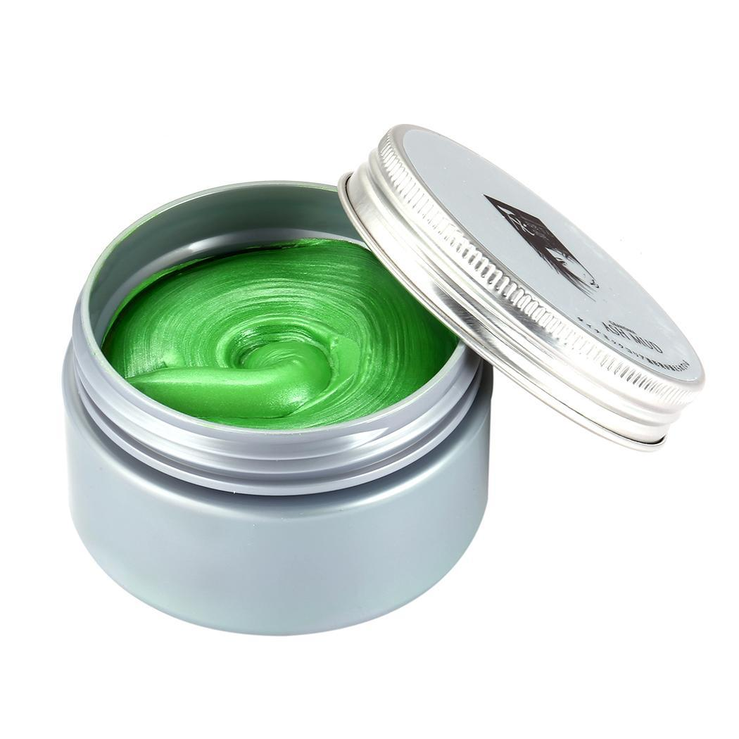 Men Hair Dyeing Mud Multi Colors Unisex Fashion Hair Styling Wax Hair Color Wax Dye One-time Molding Paste Male Hair Makeup