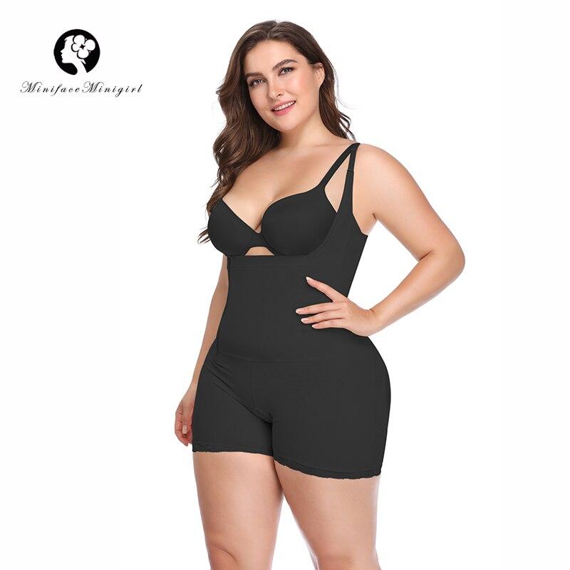 Femmes Taille Formateur Minceur Corps Shaper Feminino Underbust Combinaisons de Modélisation Sangle Ferme Femmes Body Shapewear 6XL Plus La Taille