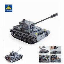 Kazi Grand Panzer IV Réservoir 1193 pcs Blocs de Construction Militaire Armée Constructeur ensemble Jouets Éducatifs pour Enfants Compatible