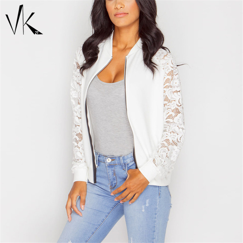 Ladies Black and White Bomber Jackets Promotion-Shop for