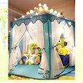 Castelo Da Princesa Jogo Tenda Crianças Atividade portátil Casa De Fadas crianças Engraçado Playhouse Indoor Ao Ar Livre Praia Tenda Do Bebê que joga o Brinquedo