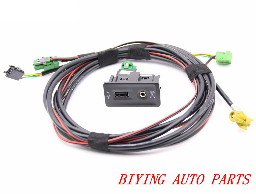 For Golf 7 MK7 CarPlay MDI USB AMI Install Plug Harness 5G0035222E(China)