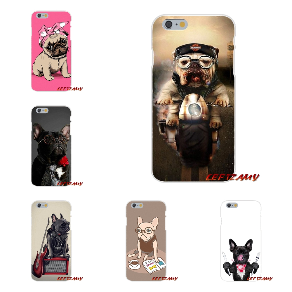 Hot Sweet French bulldog Animal Dogs Slim Silicone Case For Samsung Galaxy S3 S4 S5 MINI S6 S7 edge S8 S9 Plus Note 2 3 4 5 8
