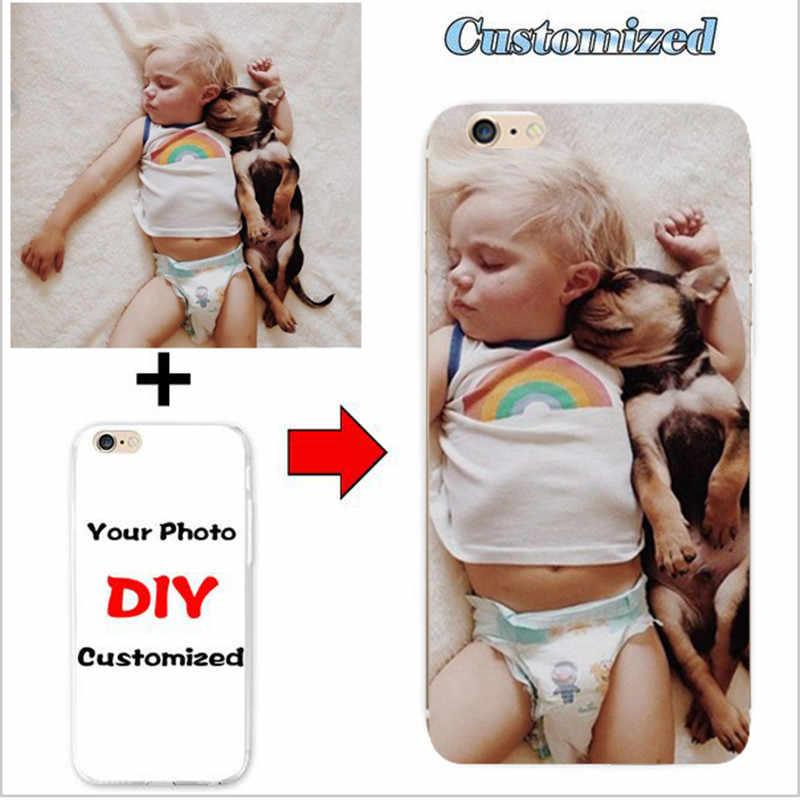 DIY مخصص تصميم الخاصة اسم شعار تخصيص الطباعة صورتك الصورة جراب هاتف جراب إيسوز Zenfone 4 ماكس ZC520KL 5.2''