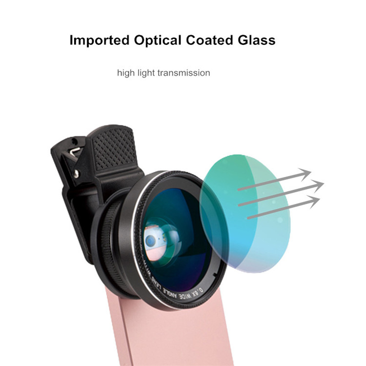 Orsda 4K HD Super 15X Macro Optical Glass Phone Camera Lens Kit for Smartphone 9