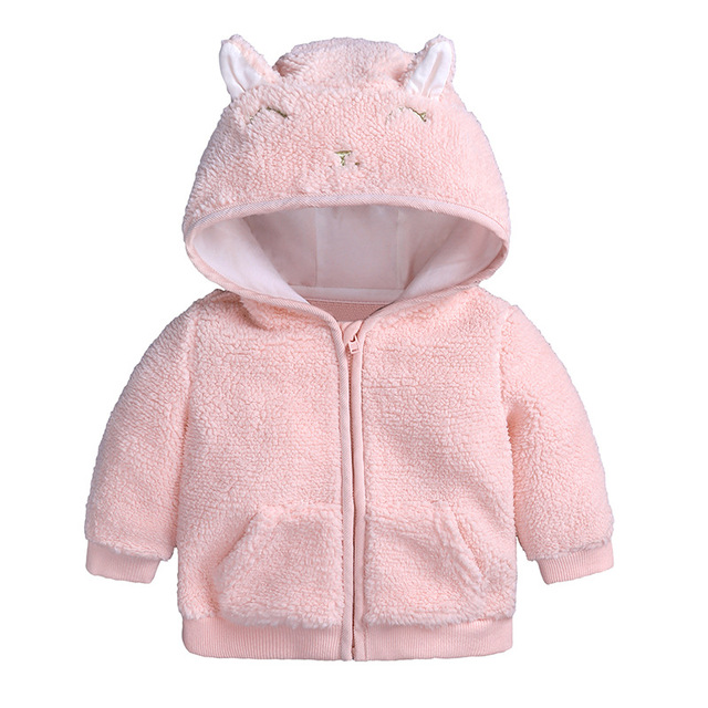 b3cd0c80417f 2018 Newborn Autumn Coats Warm Winter Infants Jackets Baby Girl ...