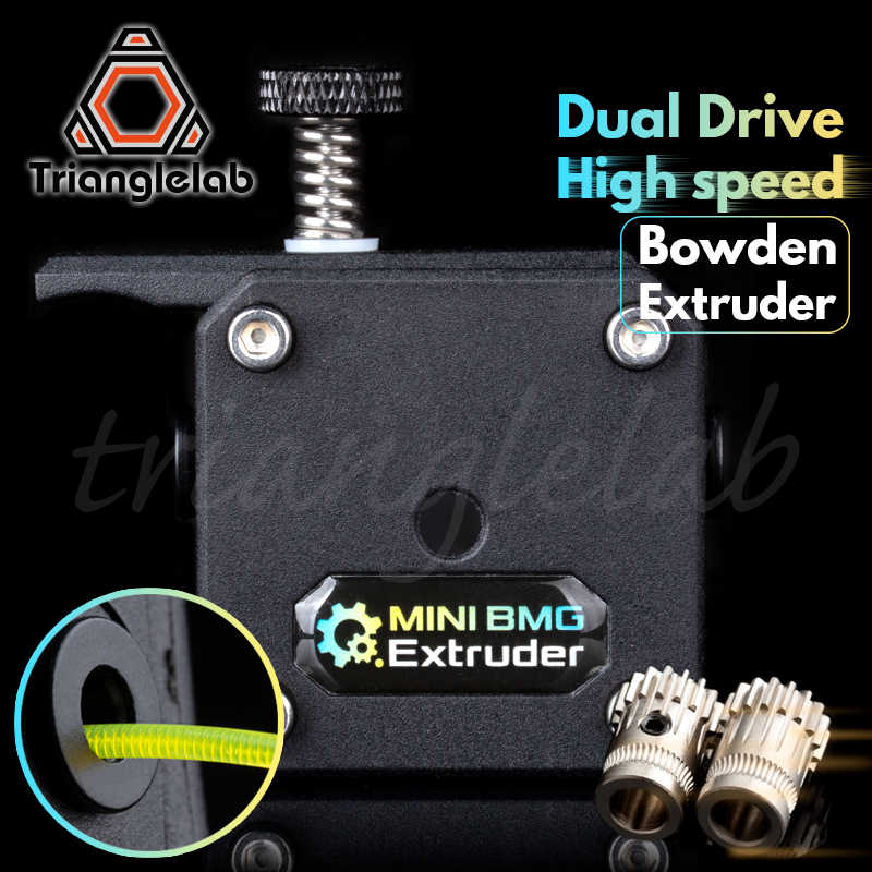 trianglelab Bowden Extruder BMG extruder Cloned Btech Dual Drive