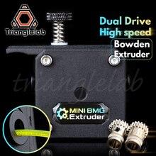 Trianglelab MINI Dual Stick Extruder MINI BMG extruder Bowden Extruder für 3d drucker für ender3 cr10 Anet tevo