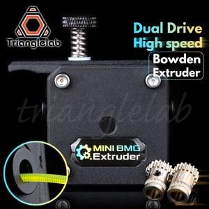 Image 1 - trianglelab MINI Dual Drive bowden Extruder MINI BMG extruder Bowden Extruder for ender3 cr 10 Anet tevo 3D printer