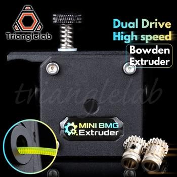 trianglelab MINI Dual Drive bowden Extruder MINI BMG extruder Bowden Extruder for ender3 cr-10 Anet tevo 3D printer 3d printer parts bmg extruder clone dual drive extruder upgrade bowden extruder 1 75mm filament for 3d printer cr10