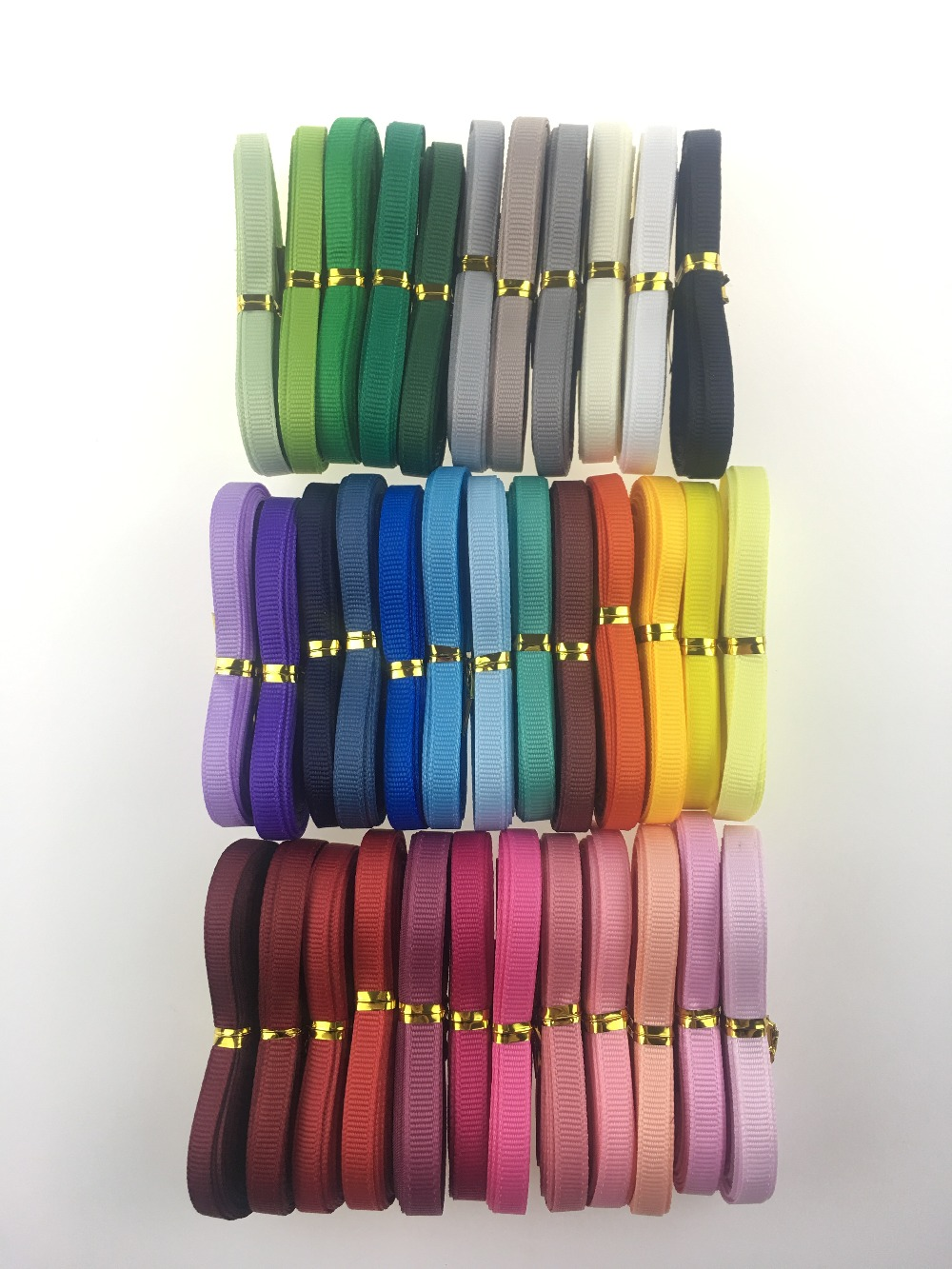 Polyester Plain Grosgrain Ribbons 6 10 15 25 38mm 5yards lot Satin Ribbon For gift wrap Polyester Plain Grosgrain Ribbons 6/10/15/25/38mm 5yards/lot Satin Ribbon For gift wrap DIY Hair Bow Wedding Party Decoration