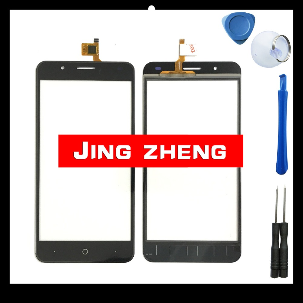 JingZheng Touchscreen Glass For Ulefone Tiger touch screen digitizer sensor touchscreen mobile phone touch