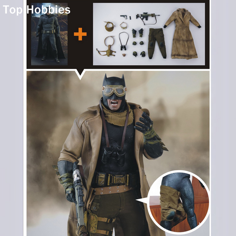 Military collectables Bust Nightmare Edition Wjltoys 1/6 Batman War Superman set Desert Suit Model 12 Inch Collection Gift batman detective comics volume 9 gordon at war