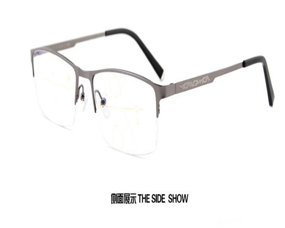 dower me see near far men brand design half brown optical reading eyeglasses brand design frame