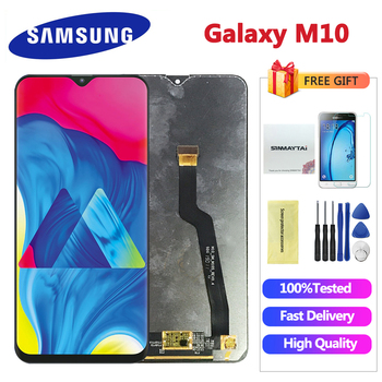 6.22'' Black LCD for SAMSUNG Galaxy M10 2019 Display SM-M105 M105F M105G/DS Touch Screen Digitizer Assembly Replacement