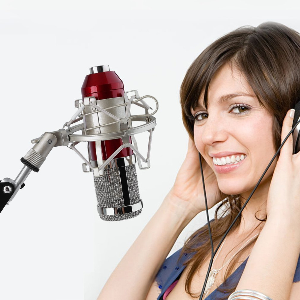 BM 800 Professional 3.5mm Wired Sound Recording Condenser Microphone bm-800 NB-35 Microphone Stand For Computer Studios PC