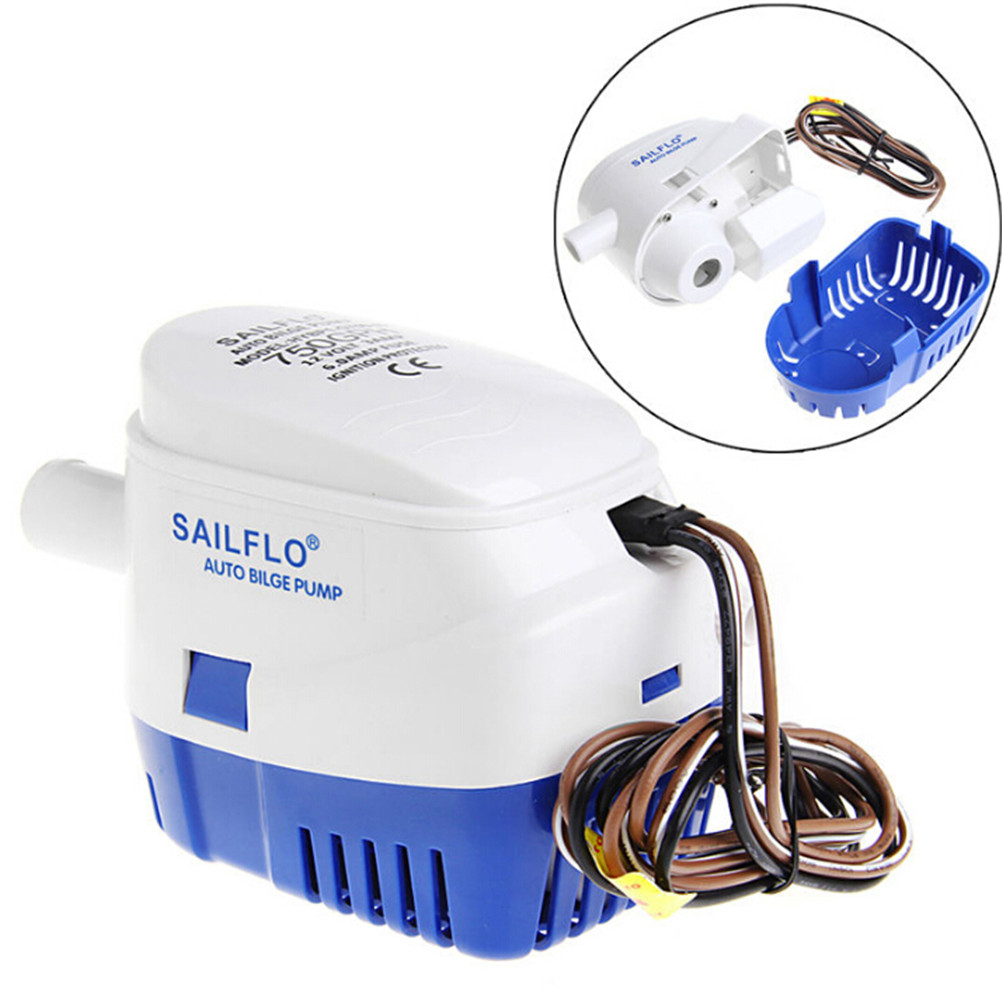 1pc 750GPH 12V Boat Marine Automatic Submersible Bilge Water Pump Float Switch High Quality 1pc 750gph 12v boat marine automatic submersible bilge water pump float switch high quality