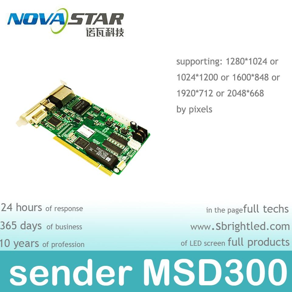 NOVASTAR MSD300 nova envoyant la carte pour l'écran de mur visuel - Accueil audio et vidéo - Photo 2