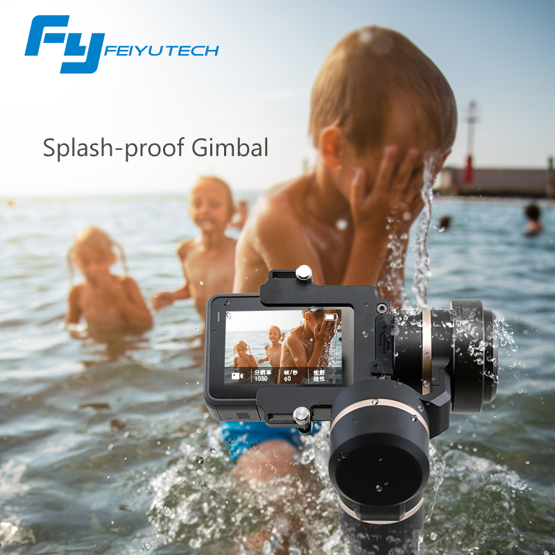 FeiyuTech fy G5 Splashproof 3-axis Handheld Gimbal For GoPro HERO 6 5 4 3 3+ Xiaomi yi 4k SJ AEE Action Cameras Bluetooth APP игорь шапошников web сервисы microsoft net