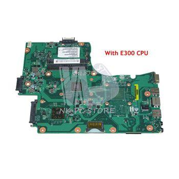NOKOTION Laptop Motherboard For Toshiba Satellite C655D C650D Main Board V000225210 E300 CPU DDR3 Full Tested