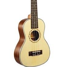 Ukulele 23 concert Rosewood Fretboard Hawaiian guitar Ingman spruce Top panel Sapele Electric Ukulele Pickup EQ guitarra 23