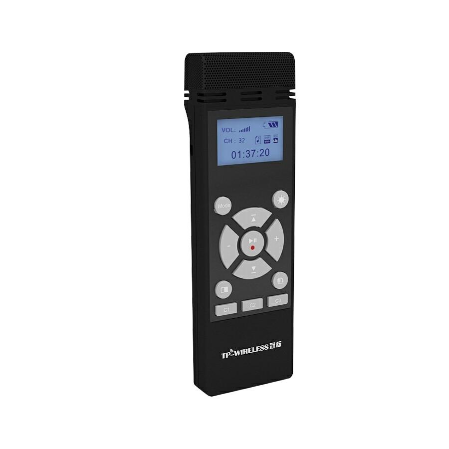 TP-WIRELESS 2.4GHz Système de microphone portable sans fil pour - Audio et vidéo portable - Photo 2