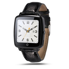 2016 Nwe Fashion SmartWatch Leather Strap Smart Watch Support Micro SIM Card Bluetooth Connectivity for Apple Android Phone