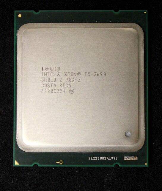 Intel Xeon E5 2690 Bộ Vi Xử Lý 2.9 GHz 20 M Cache LGA 2011 SROLO C2 E5-2690 CPU 100% làm việc bình thường
