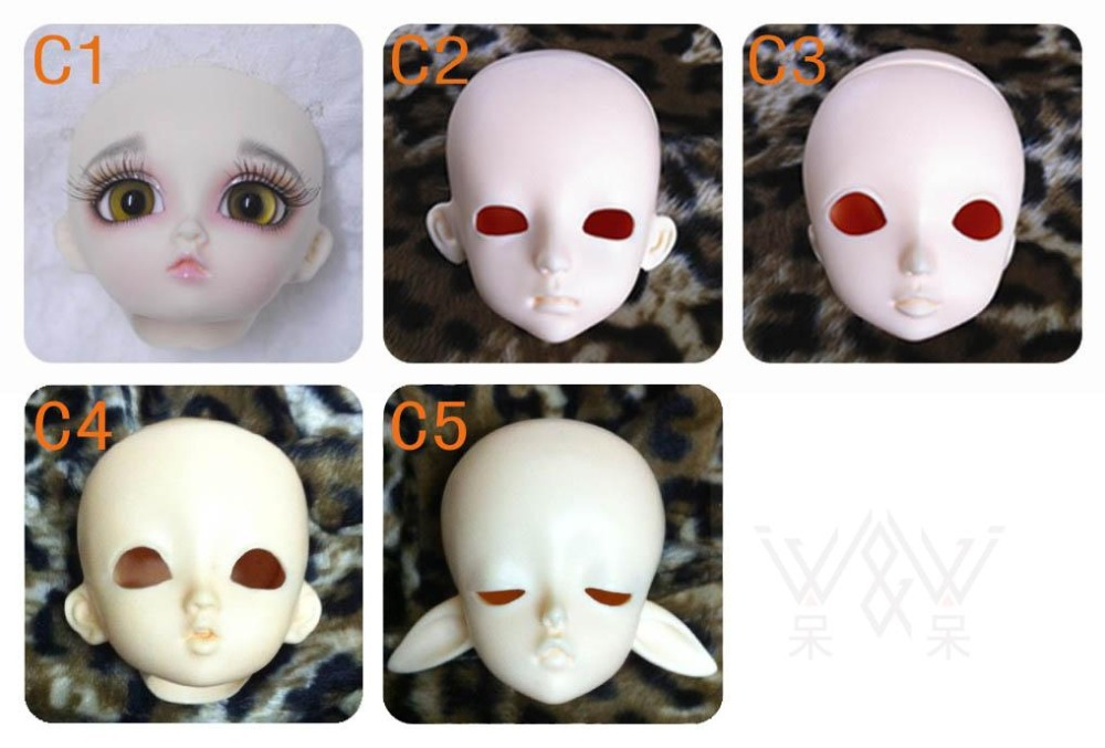 1/6 scale BJD head for DIY practice face-up Resin model toys doll BJD/SD head shape.only sell head without makeup and eyes resin kits 1 35 scale barbarossa include 11 soldiers resin model diy toys