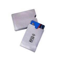 Анти Rfid кошелек блокировки Reader замок банк держатель для карт Id банковской карты защиты корпуса Металл кредитной держатель для карт алюминия