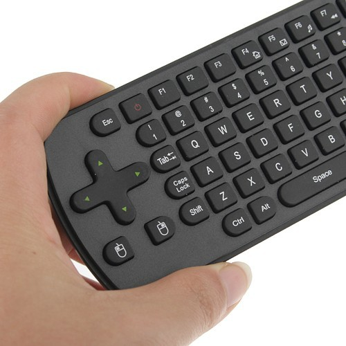 Measy RC12 Fly Air Mouse Presenter 2.4GHz  QWERTY Keyboard  for Tablet PC Android TV Box HTPC Black Free Shipping