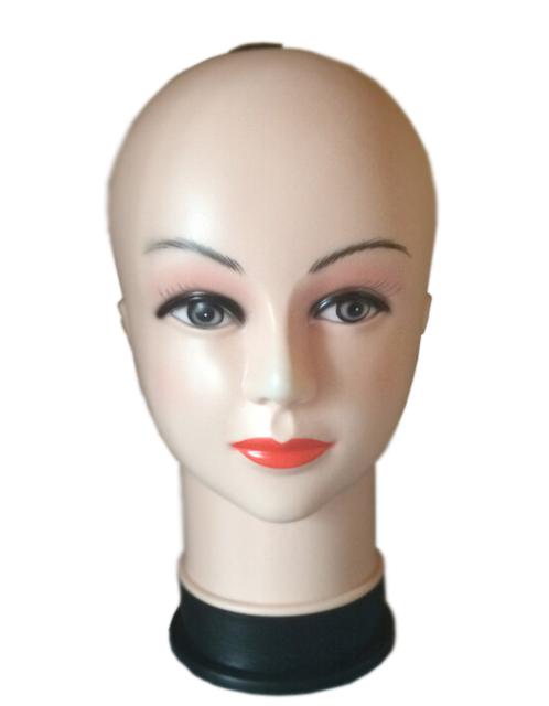 Mujeres Cabeza de Maniquí Torso Exhibición del Sombrero Peluca PVC modelo femal cabeza modelo de la cabeza modelo de la cabeza de formación