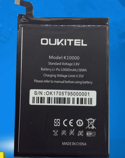FOR oukitel k10000 P6 OKP6 battery Rechargeable Li-ion Built-in mobile phone lithium polymer battery cool coolpad god s6 original mobile phone built in battery cpld 323 battery for 9190