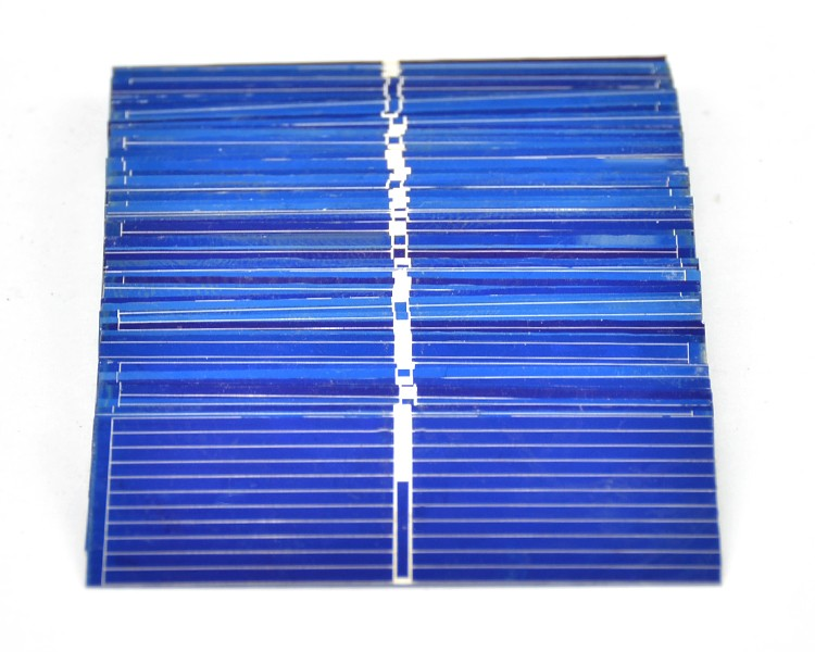 100pcs 52*19mm Solar Panels Painel Polycrystalline Silicon solar cells For DIY Charging experiment testing 9