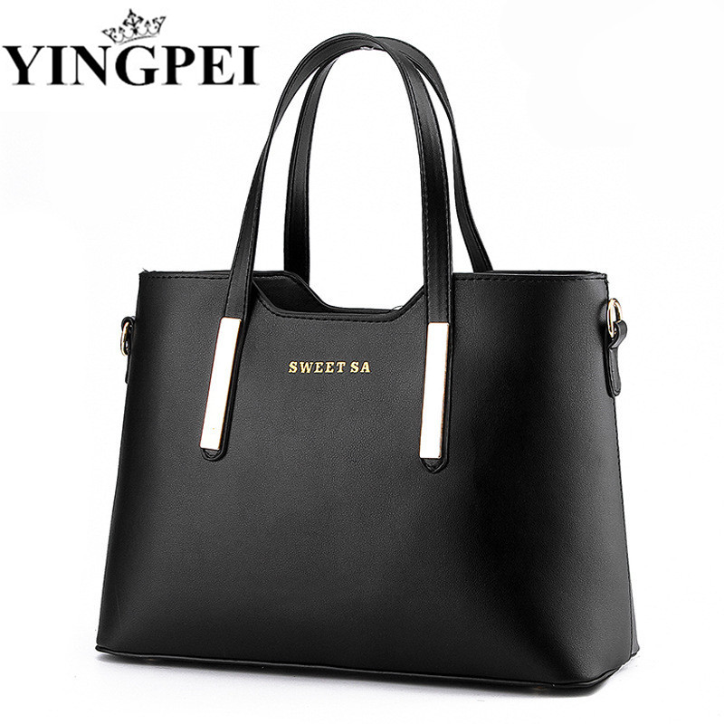 Women Messenger Bags Ladies Tote Small shoulder bag woman brand leather handbag crossbody bag with scarf lock designer bolsas new fashion women bag ladies messenger bags 2017 crossbody shoulder bag woman leather black knitting small flap designer brand 3