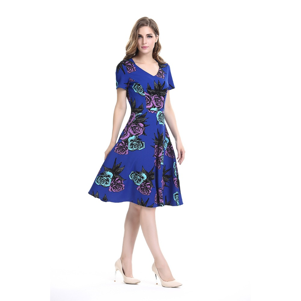 floral summer evening dresses