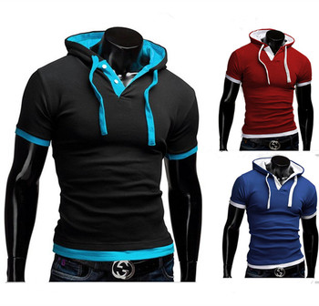 Free Shipping Explosion Models Cotton Short-sleeved T-shirt Men's Casual Fashion Short Sleeve T-shirt