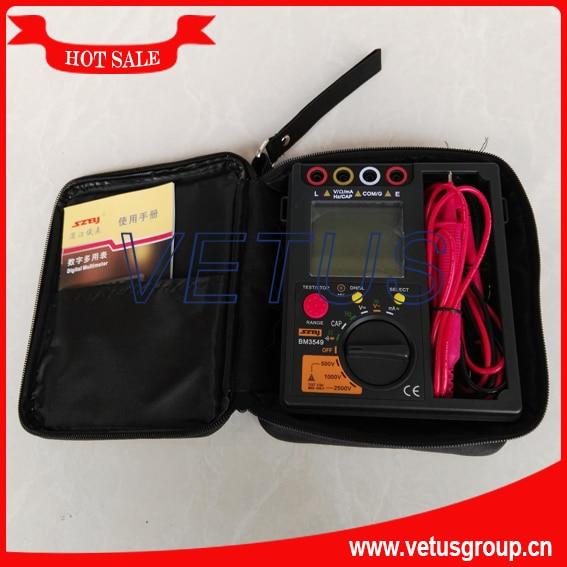 BM3549 cheap Digital insulation tester types of multimeter  цены