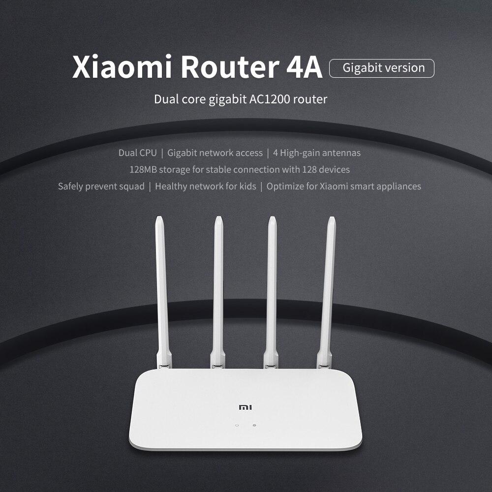 Xiaomi Mi Router 4A Gigabit Edition 100M 1000M 2 4GHz 5GHz