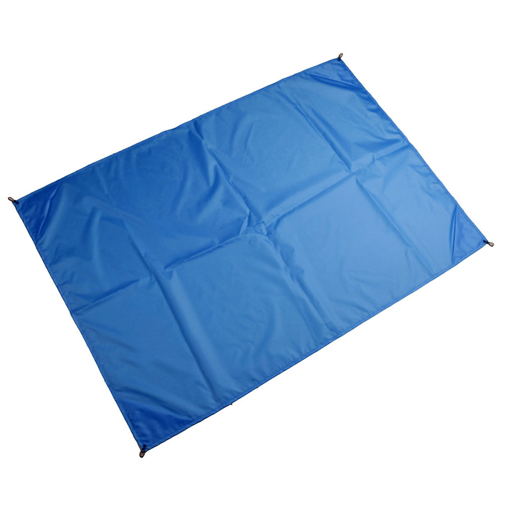 5 цветов Ткань Оксфорд многофункциональный дорожный тент навес пляжный коврик практичная палатка ткань прочная походная ткань на открытом воздухе - Цвет: bule