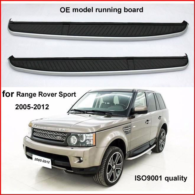OE model running board side step bar for Range Rover Sport 2005-2013 or 2014-2017, old and new are fit, LR SUV specialist