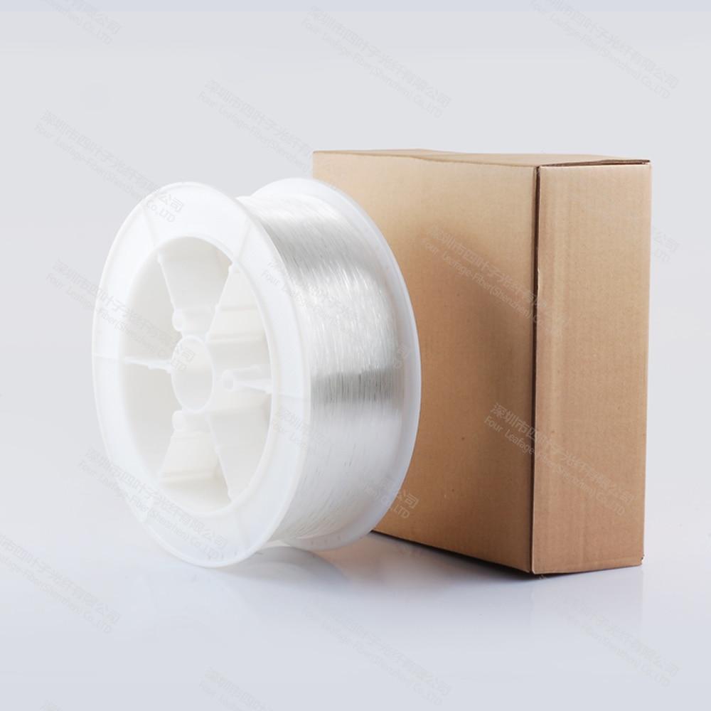 Цена по прейскуранту завода 2,5 мм Пластик pmma конец Свечение Волоконно-оптический кабель светильник для кристалла потолочный светильник ing home deco