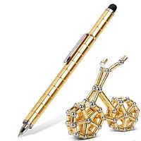 Magnetic Magic Pen Fidget Anti-Stress Magnets Metal Ball Toy Hand Touch Pen Kid Adult Creative Gift Modular Polar Capacitive Pen