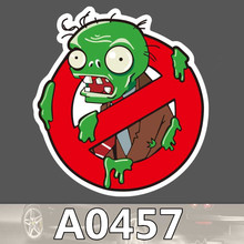 Bevle A0457 Plants V S Zombies Waterproof Cool DIY Sticker Laptop font b Luggage b font
