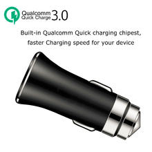 QC3.0 USB Car Fast Chargers Quick Charging Vehicle Mobile Phone Charger Qualcomm Quick Charge 3.0 Car Plug Carregador Veicular mobile phone chargers nobby nbe tc 30 01 quick fast accessories telecommunications usb