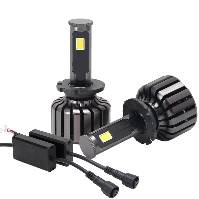 Prix pour D2S 70 W 7000LM Véritable COB PUCE LED Phare Kit Haute/Faible Faisceau de Lumière De Voiture phare H4 H7 H1 H11 H3 H8 H9 9005 9006 D2S Ampoule Led