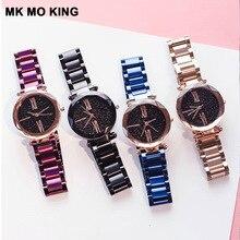 e2c25af87 النساء اللباس الساعات روز الذهب الفولاذ المقاوم للصدأ Lvpai العلامة  التجارية أزياء السيدات ساعة اليد الإبداعية