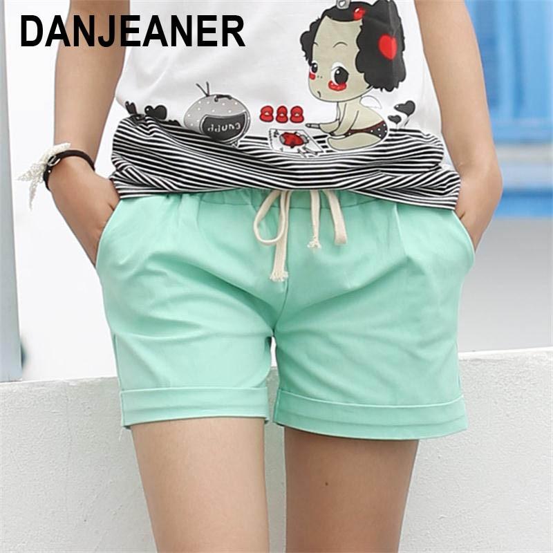 2015 Sommer Stil Shorts Candy Farbe elastisch mit Gürtel Short Frauen SH222