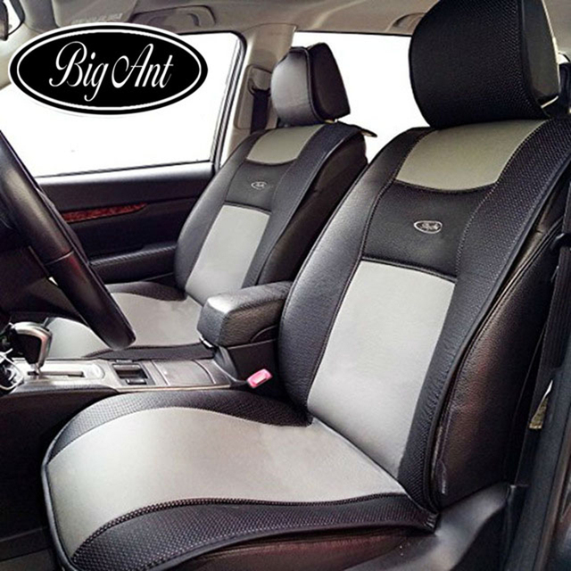 Universal Car Seat Covers Automobiles Cushion Breathable PU Leather ...