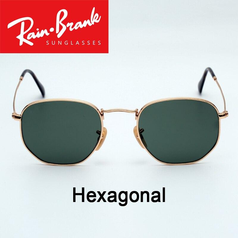 3548 N Occhiali Da Sole design Esagonale per le donne l'uomo reale UV400 occhiali da sole occhiali lenti maschio femmina Shades culos de sol con tutti i pacchetti